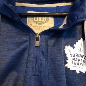 3/4 Zip Toronto Maple Leafs Sweatshirt